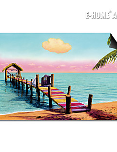 E-HOME® Magnetic Print Replaceable Art The Water Bridge Decorative Painting Multi Style Optional