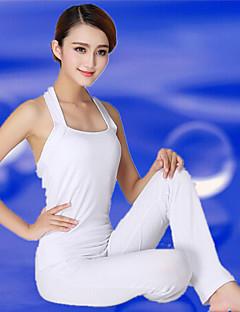Ioga Conjuntos de Roupas/Ternos Calças + Tops Respirável / Materiais Leves Stretchy Wear Sports Mulheres - Outros Ioga / Fitness