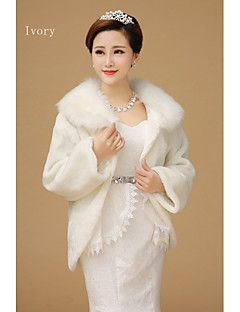 To increase the new women's cloak shawl Windproof coat to keep warm cloak The bride shawl woman with thick long sleeves