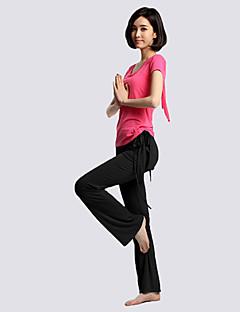 Yoga Kleidungs-Sets/Anzüge Leichtes Material / Weich Dehnbar Sportbekleidung Damen-Sport,Yoga / Pilates / Fitness / Freizeit Sport /