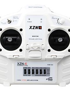 geeetech xzn -6 2.4GHz radio fjernbetjening venstre hånd gasspjæld - hvid