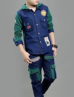 Boy's Denim Jeans , Spring / Fall Long Sleeve,Set