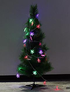 Weihnachten 4.5m Schneeflocke dekoratives Licht (220v leuchtet Nummer: 28)