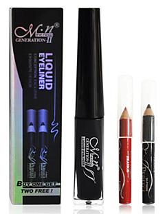 Waterproof Eyeliner with 2 Eye Liner Pencils(Random Color)