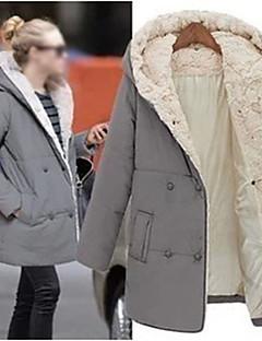Сексуальные платья / Повседневный - ЖЕНЩИНЫ - Пальто и жакеты ( Хлопок Ассиметричное - Длинный рукав