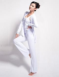Ioga Conjuntos de Roupas/Ternos Calças + Tops Respirável / wicking / Materiais Leves Stretchy Wear Sports Mulheres - LEFANIoga / Pilates