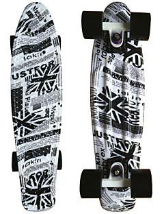 uk flag Grafik gedruckt Kunststoff-Skateboard (22 inch) Cruiser-Board mit ABEC-9 Lager