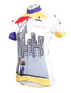ilpaladinoSport Women Short Sleeve Cycling Jersey New Style Distinctive  DX601  await 100% Polyester