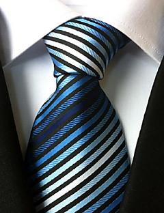 Krawat-Dla mężczyzn-Vintage / Urocza / Imprezowa / Do biura / Na co dzień-Poliester-Prążki
