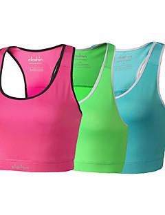 das mulheres clothin® yoga / ciclismo top / sutiã / tankolyester&elastano ciclismo camisola
