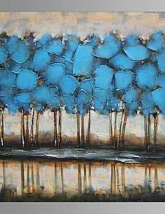 Vida Imóvel / Fantasia / Botânico / Extravagante / Moderno / Romântico / Pop Art Impressão em tela Um Painel Pronto para pendurar ,