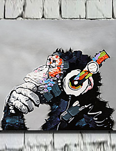 Animali Print Canvas Un pannello Pronto da appendere , Orizzontale