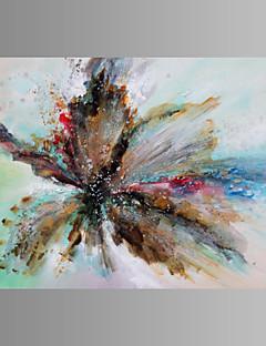 Vida Imóvel / Fantasia / Lazer / Botânico / Moderno Impressão em tela Um Painel Pronto para pendurar , Horizontal