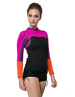 2mm Warm Up Ladies Rash Vest Top Women Rash Guard Surfing Wear Winter Surf Wear (Only Tops)
