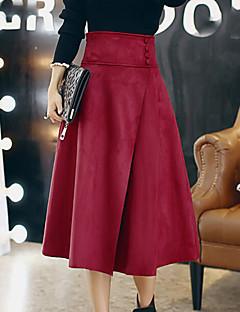 Women Lamb Fur Skirt