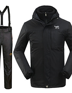 Men's Winter Jacket / Clothing Sets/Suits Skiing Waterproof / Thermal / Warm / Windproof Winter BlackS / M / L / XL / XXL
