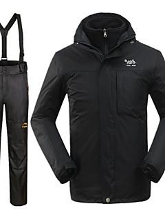 Per uomo Giacca invernale / Set di vestiti/Completi Sci Impermeabile / Tenere al caldo / Antivento Inverno NeroS / M / L / XL / XXL