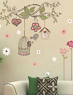 Noël / Floral / Vacances / Paysage Stickers muraux Stickers muraux 3D , pvc 50x70x0.1cm