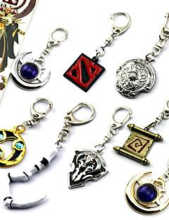 Mais Acessórios Inspirado por LOL Fantasias Anime/Games Acessórios de Cosplay ChaveiroBranco / Preto / Vermelho / Azul / Marrom / Dourado