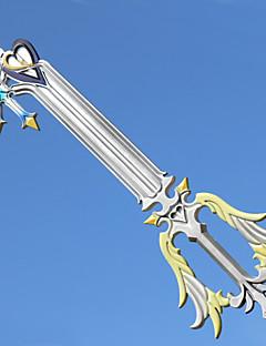 Waffen / Schwert Inspiriert von Kingdom Hearts Cosplay Anime Cosplay Accessoires Waffen Weiß ABS / PVC Mann / Frau