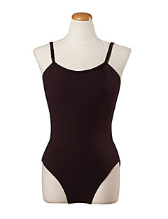 Ballet Leotards Women's Training Cotton 1 Piece Black / Purple / Dark Red Ballet Backless Spring, Fall, Winter, Summer Sleeveless Leotard