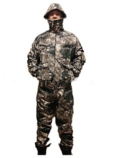 집 밖의 남성의 의류 세트/수트 수렵 / 피싱 방수 / 보온 / 충격방지 봄 / 여름 / 가을 다크 그린 - 기타 - L / XL / XXL / XXXL / XXXXL