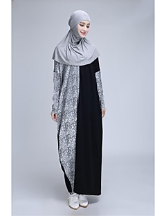 Formal Evening Abaya - Floor-length A-line Dress