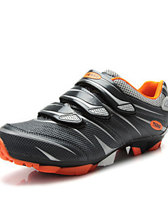 TIEBAO Unisex's Cycling Mountain Bike Shoes More Colors Available (Orange+Gray)