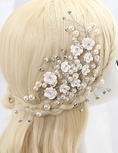 Women's Alloy Cubic Zirconia Headpiece-Wedding Special Occasion Flowers