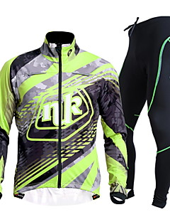 NUCKILY Bike/Cycling Jersey + Pants/Jersey+Tights / Clothing Sets/Suits Women's / Unisex Long SleeveWaterproof / Breathable / Insulated /