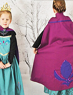 Cosplay Costumes Princess / Fairytale Movie Cosplay Blue Patchwork Dress Halloween / Christmas / New Year Kid Cotton