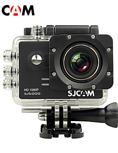 SJCAM SJ5000 Action Kamera / Sport-Kamera 12MP / 14MP 4000 x 3000 LCD / Wasserdicht 4X ± 2 EV 2 CMOS 32 GB H.264Einzelaufnahme /