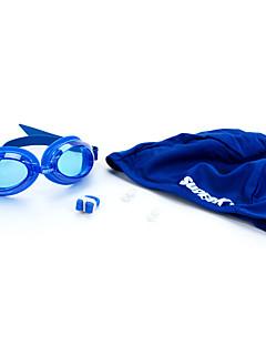 SUPER-K плавательные очки Жен. / Муж. / Универсальные Противо-туманное покрытие / Водонепроницаемый / Регулируемый размер Силикагель