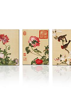 Astratto / Animali / Riproduzione / Paesaggio / Botanical / Vacanze / Moderno / Viaggi Print Canvas Tre Pannelli Pronto da appendere ,