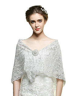 Wedding / Party/Evening / Casual Lace / Orlon Capelets Sleeveless Wedding  Wraps
