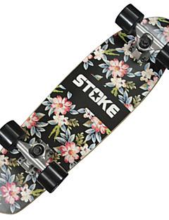 """26 """"x 7.2"""" Kreuzer Skateboard mit ABEC-9 Lager 60 x 45mm Räder grafischen mit Blumen"""