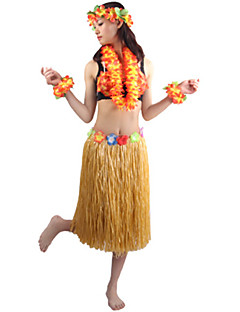Cosplay Kostýmy / Kostým na Večírek Burlesque/Klaun Festival/Svátek Halloweenské kostýmy Červená / Fialová / Bílá / Růžová / Oranžová