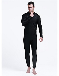 Men's 1mm Wetsuits Dive Skins Waterproof Thermal / Warm Ultraviolet Resistant Softness Elastane LYCRA® Chinlon Diving Suit Long Sleeve