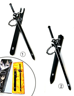 Wapen / Zwaard geinspireerd door Sword Art Online Cosplay Anime Cosplay Accessoires Zwaard Zwart Legering Mannelijk / Vrouwelijk