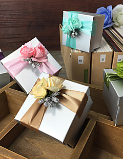 6 Piece/Set Favor Holder - Cubic Card Paper Gift Boxes Non-personalised