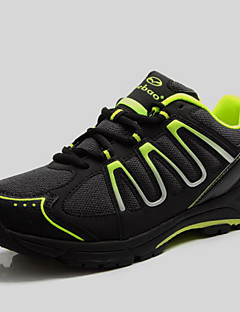 Z.SUO Unisex Cycling Sneakers Spring /Summer/Autumn/Winter Damping / Cushioning/Impact/Breathability Shoes Green/Orange