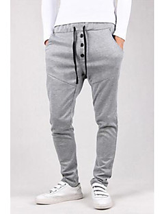 Men's Sweatpants,Casual Print Cotton