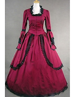 Top Sale Gothic Lolita Dress  Vintage Long  Gothic Victorian Dress Cosplay Costumes