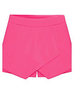 Damen Hose - Leger Kurze Hose Baumwoll-Mischung Unelastisch