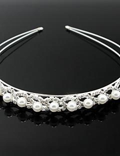 Women's Alloy Imitation Pearl Headpiece-Wedding Special Occasion Headbands
