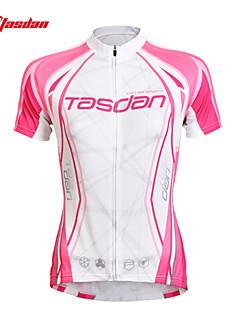 TASDAN® Cyklodres Dámské Krátké rukávy Jezdit na kole Prodyšné / Rychleschnoucí / Odolný vůči UV záření / Ter EmenDres / Dres + čapáky /