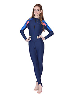 Others Women's Diving Suits / Rash guard / Wetsuit Skin Diving Suit Ultraviolet Resistant / Anti-Eradiation Dive Skins 3 to 3.4 mm Pink