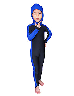 """אחרים לילדים מגן מפריחה / חליפה רטובה / חליפות צלילה חליפת צלילה עמיד אולטרה סגול / הגנה בפני קרינה Skins הצלילה 3-3.4 מ""""מצהוב / ורוד /"""