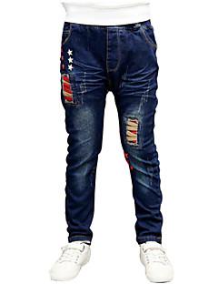 Jungen Jeans - Baumwolle einfarbig Frühling / Herbst