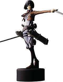 Angriff auf Titan 14cm mikasa · Ackerman Puppe Spielzeug Modell Anime-Action-Figuren